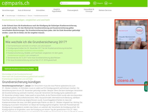 Google Ads Displayanzeigen - Standout GmbH Luzern
